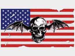 American Flag Backdrop Avenged Sevenfold Backdrop By Deathbyacrush On Deviantart