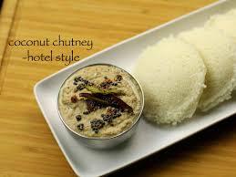 kitchen recipes hotel style coconut chutney recipe for dosa and idli hebbar s