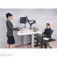 Adjustable Sit Stand Desk by Uplift Height Adjustable Sit Stand Desk U2013 Sitting Killz