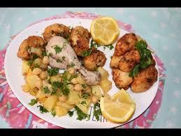 cuisine maghrebine cuisine algérienne chou fleur frit aux oeufs القرنبيط المقلي بي
