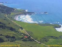 sand dollar and picnic grounds big sur california scenic