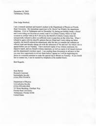 sample character reference letter to judge before sentencing