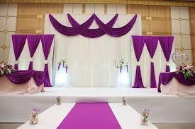 Beautiful Wedding Stage Decoration 3pcs Lot 1pcs 4 3m 2pcs 2 2m White And Blue Wedding Stage