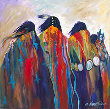 acrylic native american painting on canvas google search art