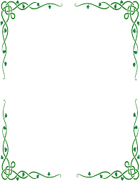 Decorative Line Clip Art Decorative Green Border Page Border Clipart Cliparts And Others