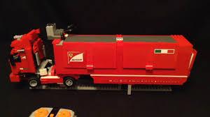 lego ferrari truck lego ferrari truck rc youtube