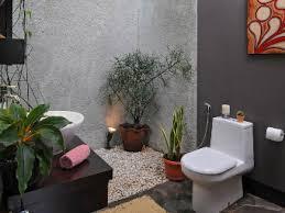 desain kamar mandi pedesaan contoh desain kamar mandi natural terbaik renovasi rumah net