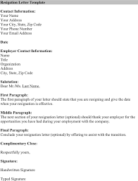best ideas of template letter of resignation microsoft with