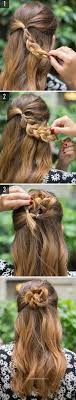 a quick and easy hairstyle i can fo myself best 25 quick easy hairstyles ideas on pinterest easy hair