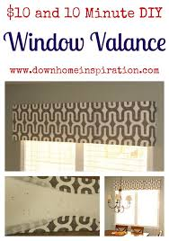 How To Sew Valance Best 25 No Sew Valance Ideas On Pinterest Bathroom Valance