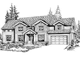 Symmetrical Floor Plans Enderby Craftsman Home Plan 071d 0110 House Plans And More