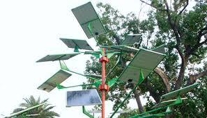 plant solar trees solve space problem india climate dialogue
