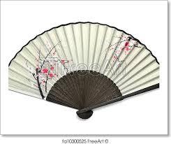 japanese folding fan free print of japanese folding fan the japanese folding fan
