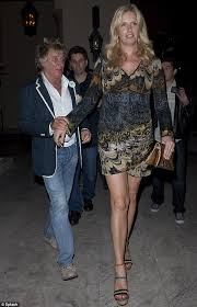penny lancaster leads the way at romantic dinner daily mail online
