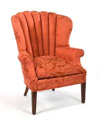 Wing Chair George Iii Style Mahogany Wing Chair With U0027scalloped U0027 Back And