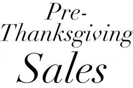black friday get up to 60 at the saks thanksgiving sale