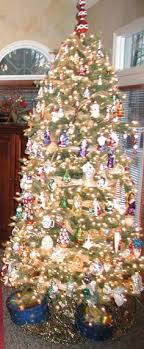 tree with christopher radko ornament collection