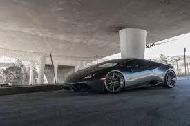 Lamborghini Huracan With Spoiler - lamborghini huracan lp610 adv10 m v2 cs brushed gunmetal