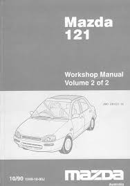 mazda 121 mazda 121 1990 workshop manual volume 2 pdf