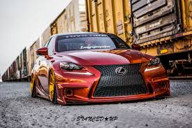 stanced mitsubishi eclipse hoang u0027s lexus is350 stanced up