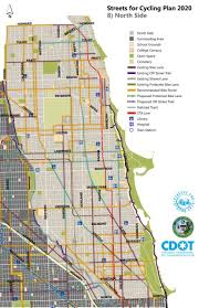 Chicago Community Map by Bike Walk Lincoln Park December 2011