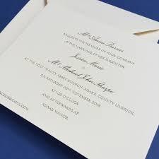 wedding invitations limerick barnes gold wedding invitations wedding stationery geebrothers