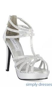 silver dress shoes designer prom heels in silver