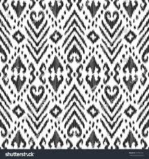 Ikat Home Decor Fabric by Vector Ikat Seamless Pattern Damask Turkish Stock Vector 572961691