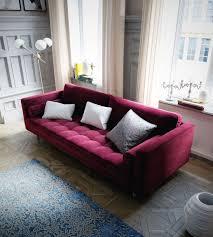 Purple Corner Sofas Luca Sofa Mid Century Modern Sofa Rove Concepts