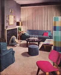 lavender living room 1957 lavender living room vintage mid century 1950s living room