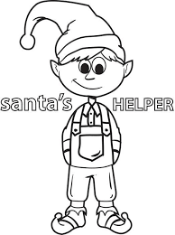 printable elf coloring pages coloring book elf page christmas printables products pages 1700 2200
