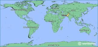 world map pakistan karachi where is pakistan where is pakistan located in the world