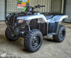 2016 honda atv horsepower u0026 tq model lineup comparison