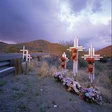 roadside crosses roadside crosses descansos the place where