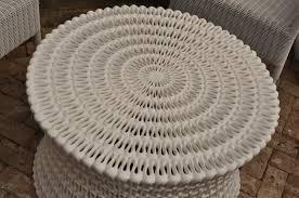 round pipa resin coffee table mecox gardens