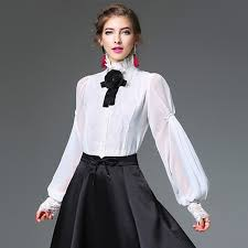 big bow blouse best fashion polka dot frill sleeve big bow chiffon blouse