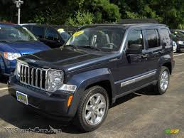 jeep liberty limited interior 2008 jeep liberty limited 4x4 in modern blue pearl 280095