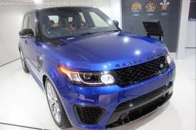 land rover purple auto expo 2016 by soulsteer range rover sport svr and land rover