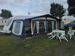 Bradcot Awning Spares Bradcot Classic Awning Size 1020cm 2005 Model In Blue Outside