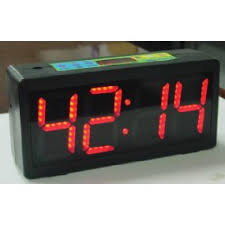 macgregor count up clock scoreboards and