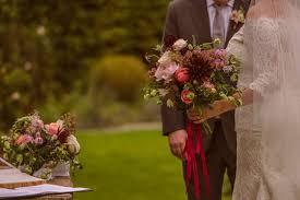 wedding flowers ireland plum burgundy coral wedding flowers loos unstructured