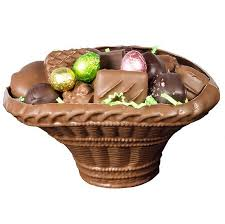 chocolate baskets gourmet chocolate baskets filled with assorted chocolates morkes