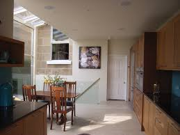 kitchen diner in side return conservatory knocked through to