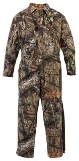 insulated jumpsuit silent hide insulated coveralls for bass pro shops