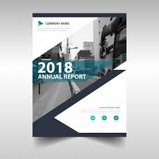 reporting website templates creative annual report book cover template vector free