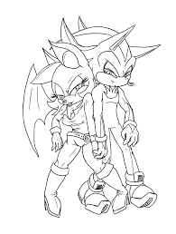 color me shadow and rouge by theorangesunflower on deviantart