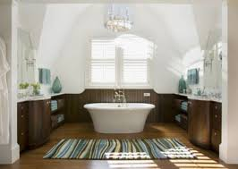 Large Bathroom Rugs White And Brown Color Combination With Striped Large Bath