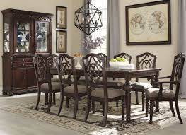 leahlyn brown extendable rectangular dining room set from ashley