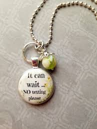 Personalized Rear View Mirror Charms No Texting Car Charm Rearview Mirror Charm Car Accessories Car