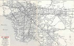 Old Route 66 Map by California Highways Www Cahighways Org Southern California